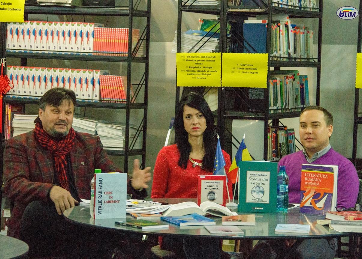 Reflecții despre carte, bibliotecă și lectură, cu poetul și criticul literar Vitalie Răileanu
