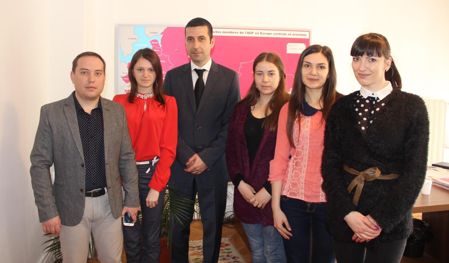 Visite au Bureau Europe centrale et orientale de l'AUF