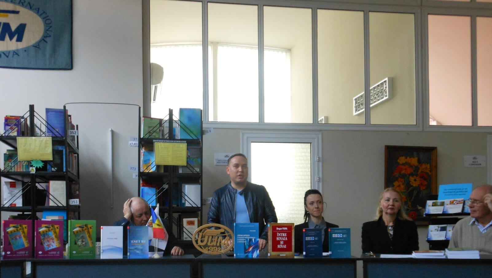 """Lansări de carte în cadrul Salonului """"Scientia"""", ULIM"""
