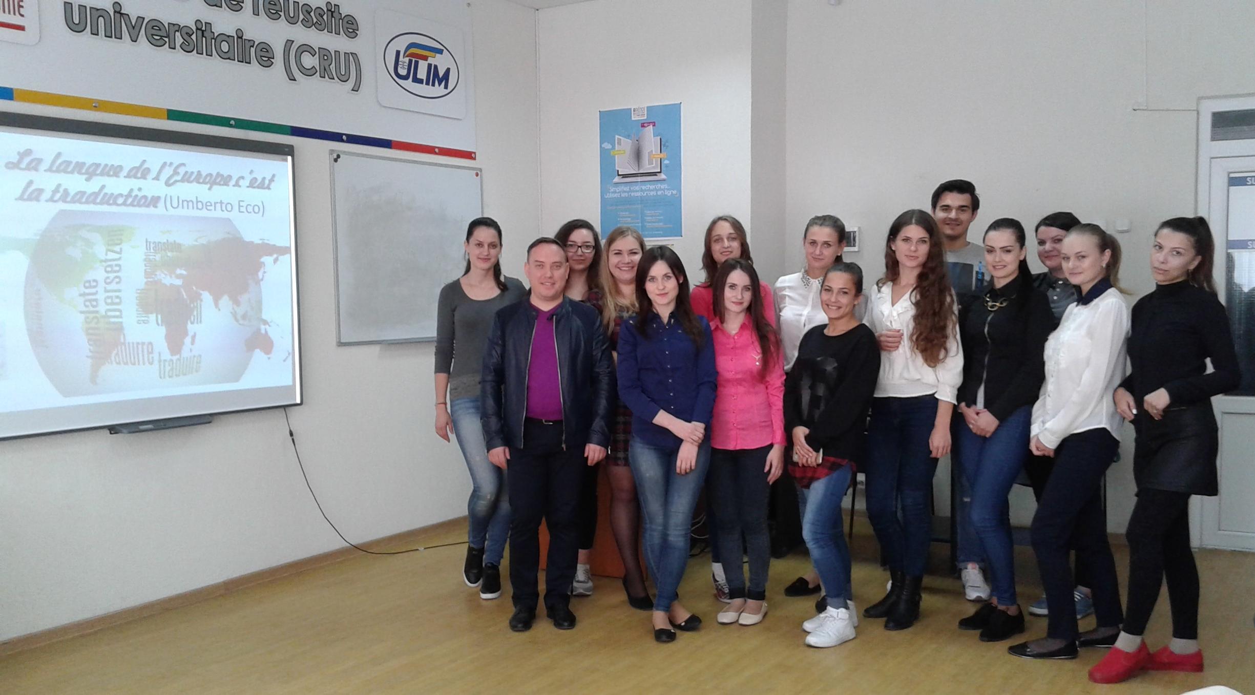Concurs de traducere în Centrul de Reușită Universitară
