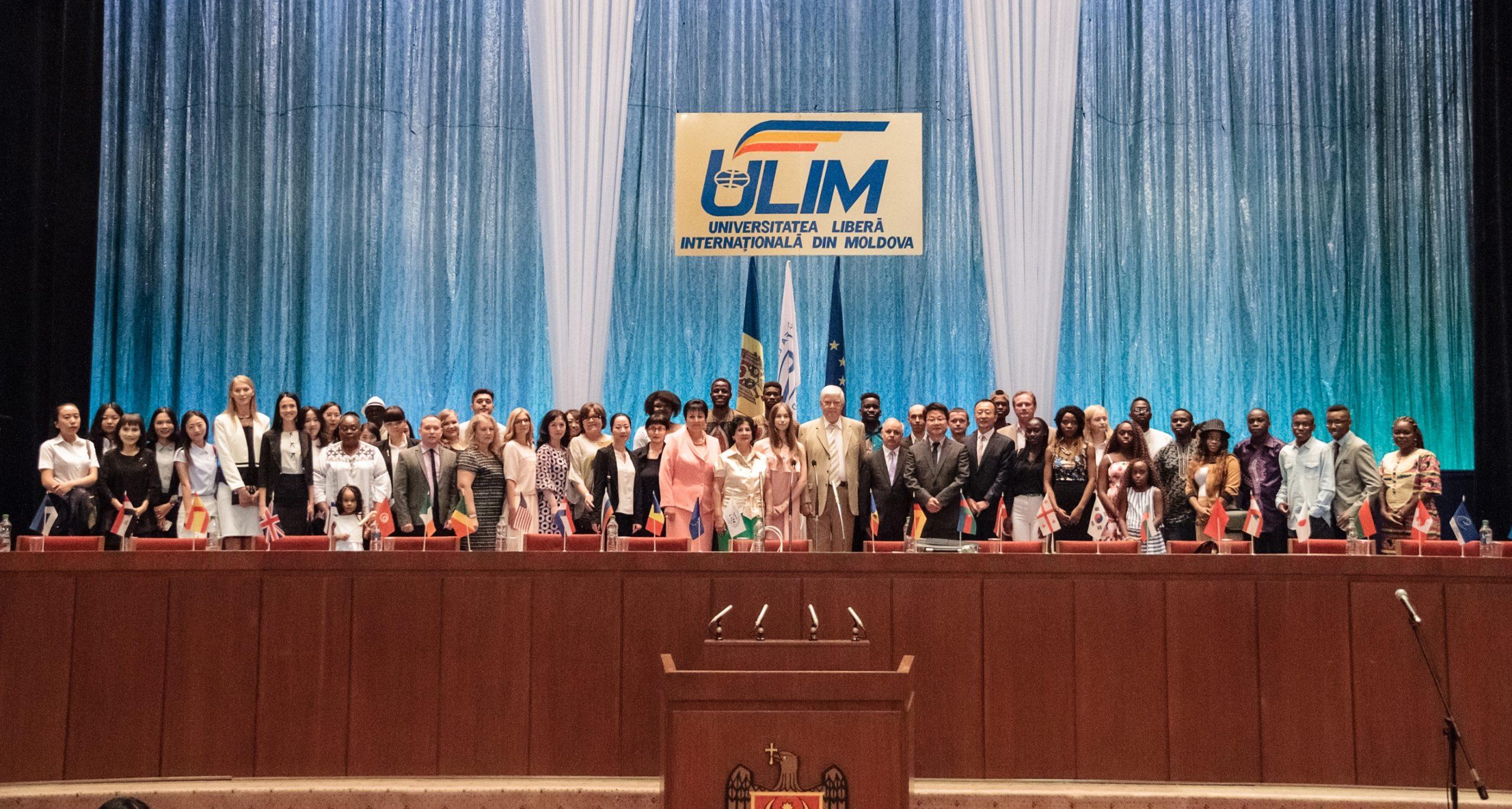 Felicitări ULIM-iștilor cu ocazia deschiderii anului universitar 2017-2018