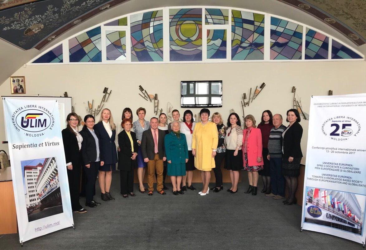 Conferință științifică internațională consacrată aniversării a 25-a de la fondarea ULIM