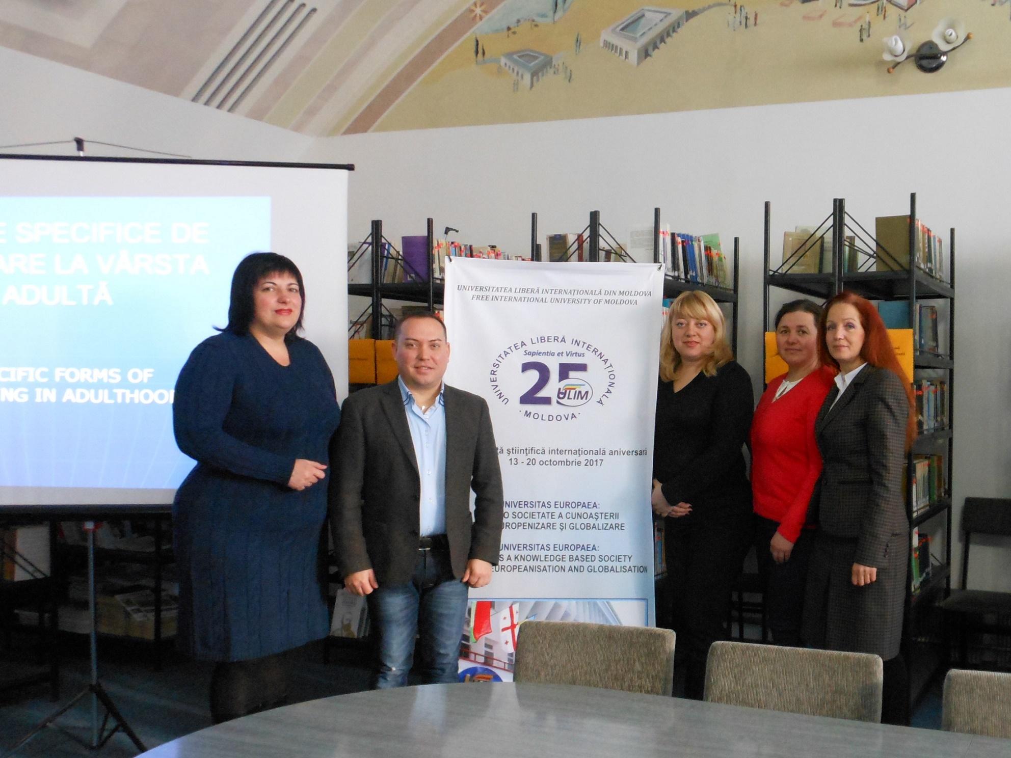 """Participarea la Conferința internațională """"Preocupări contemporane ale științelor socio-umane"""""""