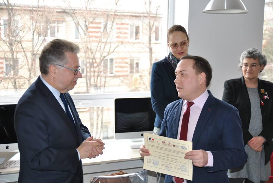 Lauréat du Concours IFprofs Moldavie – Deuxième Prix «Membre le plus dynamique»