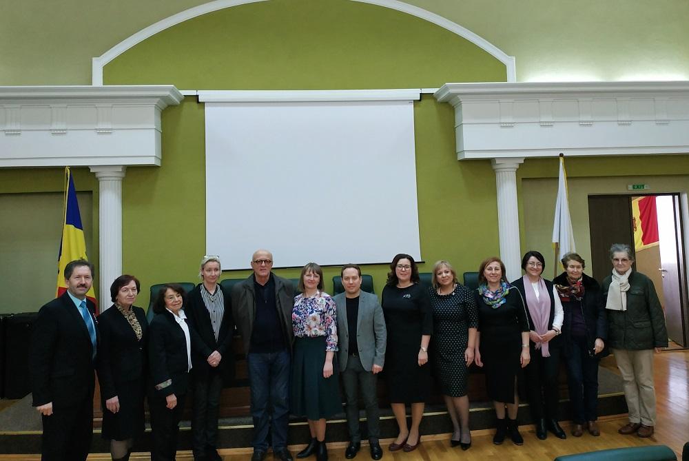 Eveniment științific internațional consacrat aniversării a 55-a de la fondarea Facultății de Limbi și Literaturi Străine a USM