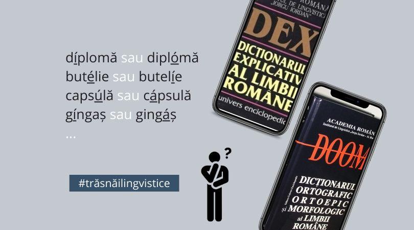 Trăsnăi lingvistice: Unde punem accentul?