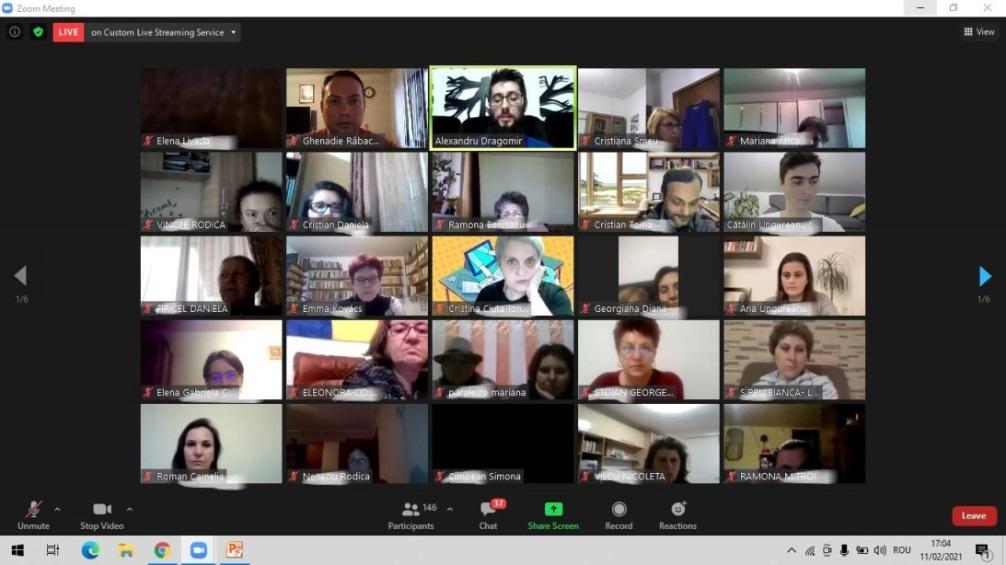 Google Classroom, curs online pentru administratori și profesori