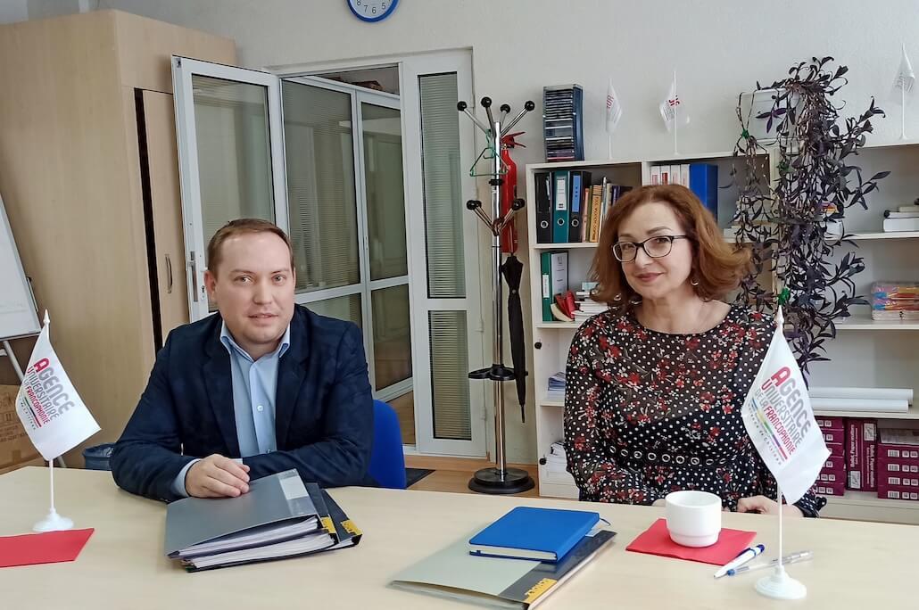 În vizită la Antena din Chișinău a AUF